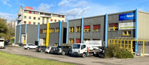 Kleines Büro in der Industriezone! Lager-, Produktions- und Büroflächen stehen auch zur Verfügung!