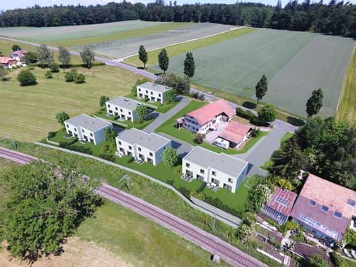 A vendre magnifique villa jumelée de 4,5 pces sur la commune de Belfaux