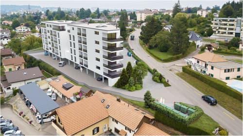 A vendre magnifique appartement de 4,5 pces sur la Commune de Marly
