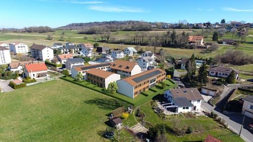 A vendre villa mitoyenne de 4,5 pces sur la Commune de Domdidier