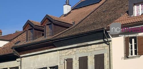 Magnifique TRIPLEX traversant style loft au centre-ville PAYERNE