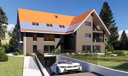 Dompierre, à vendre, appartement de 3.5 pièces de 81 m2 avec balcon