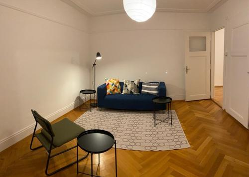 Appartement meublé de 2.5 pièces avec balcon