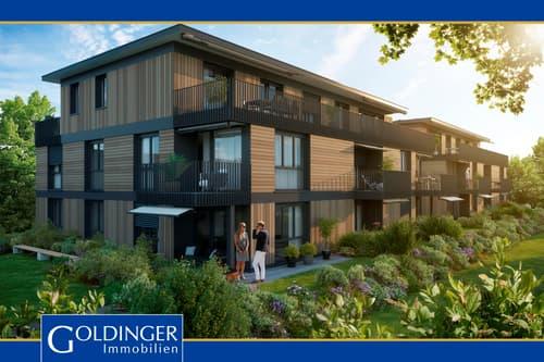 Moderne Neubauwohnung - direkt am See - mit ca. 200m² Gartenanteil