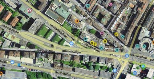 Plein centre de Lausanne appartement 1.5 pièces à louer - MEUBLÉ