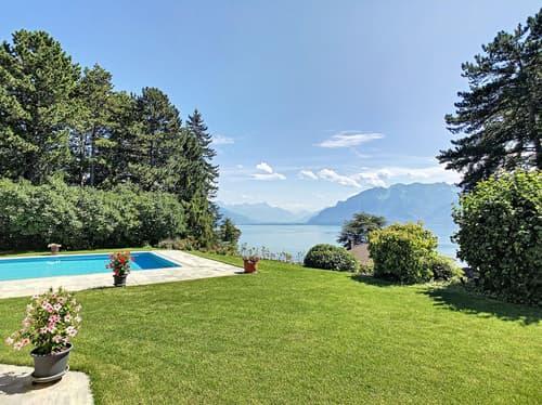 """Spacieuse villa avec vue magnifique """"lac et montagnes"""""""