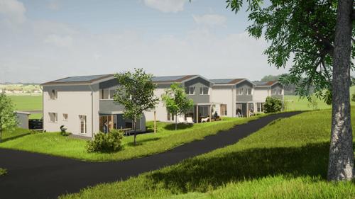 Villas individuelles sur plans