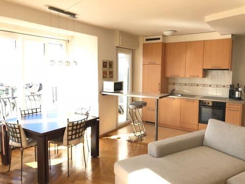 Appartement meublé 3,5 pièces proche de la Gare de Lausanne