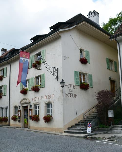 Hôtel du Boeuf à St-Ursanne