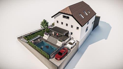 Technologie de pointe pour cette villa de deux logements!