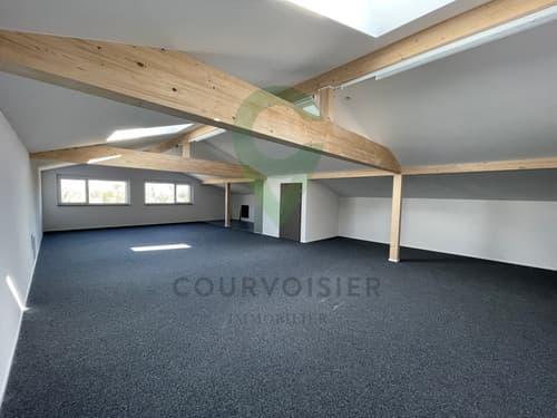 À 8 minutes d'Aubonne, bel espace bureau neuf et facile d'accès
