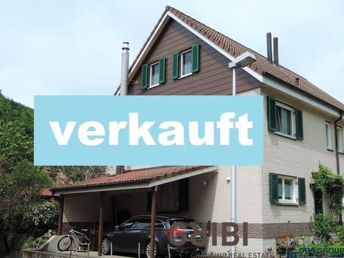 Doppelhaushälfte mit unverbaubarer Aussicht ins Grüne