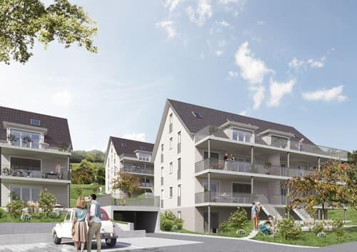 """3.5-Zimmer Wohnung im Neubauprojekt """"Im Engelmaa"""""""