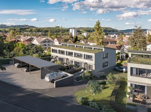 Ein Zuhause für dich + mich - Erstvermietung Reiheneinfamilienhaus in Niederuzwil