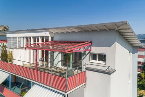 4 1/2-Zimmerwohnung mit schöner Dachterrasse
