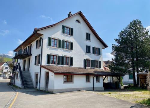 Doppelhaushälfte mit Einliegerwohnung und Werkstatt