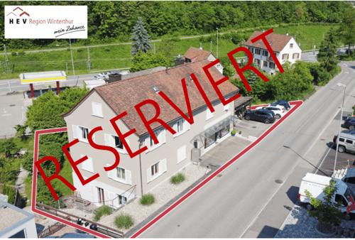 Attraktive Renditeliegenschaft, Wohn- und Geschäftshaus mit Gewerbefläche und drei Wohneinheiten