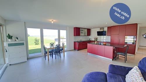 Appartement 3.5 pces avec terrasse à Gurmels / FR