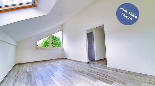Appartement 3.5 pces rénové à Montet (Broye) / FR