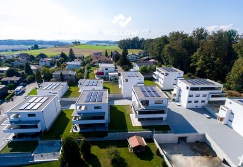 Moderne und grosse duplex Attika Wohnung - Grand appartement moderne en attique avec vues panoramiques