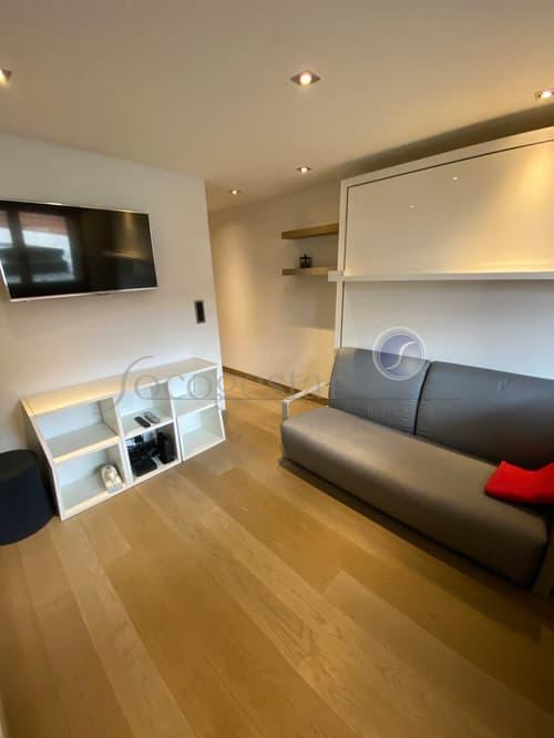 A LOUER, à la saison ou à l'année, joli studio meublé situé au centre