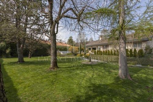 Villa individuelle de plain pied avec piscine extérieure