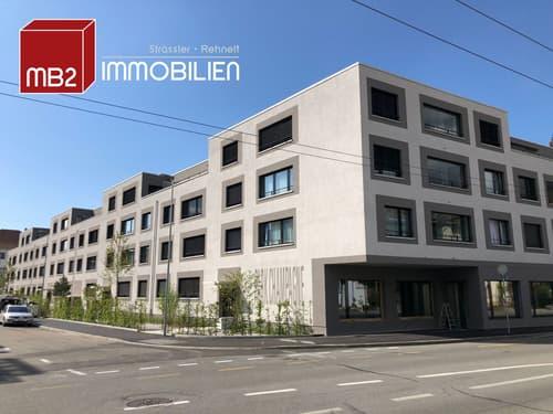 Moderne Büro-/Gewerberäumlichkeit mit grosser Schaufensterfront im Wohnpark Champagne