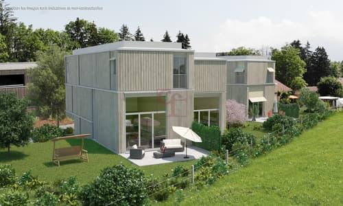 La Tour-de-Trême - Projet de villas individuelles groupées