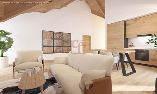 Charmey - Superbe appartement de 3.5 pièces neuf