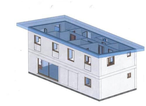 A CONSTRUIRE  MAISON DE 5,5 PIECES  A OSSATURE BOIS