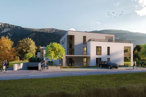 Neubau Ob a Damm, Felsberg