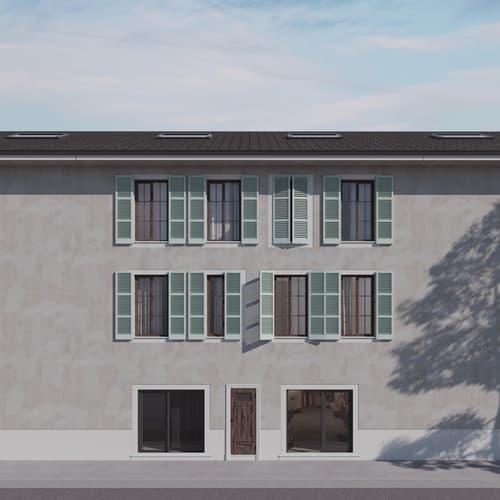 NYON - Vieille-Ville appartement 3 pièces 59 m2 PPE