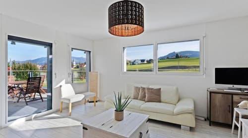 Magnifique villa jumelle à Vuadens