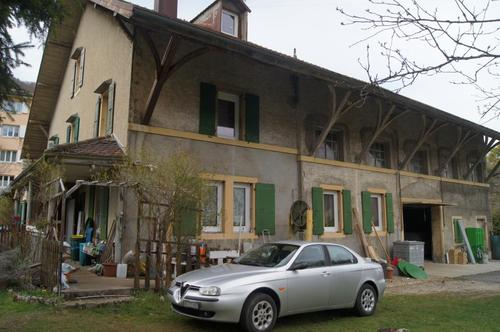 Terrain pour immeuble à Vallorbe