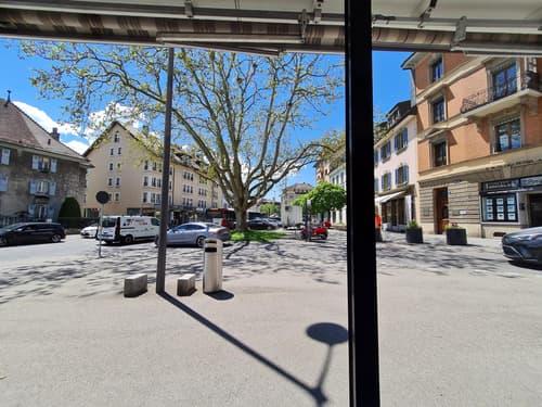 Local commercial - boutique éphémère au coeur de la ville de Bulle