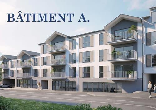 Neuf ! Appartement de 3.5 pièces au 2e étage - Lot A24 ''Résidence Le Bourg A''