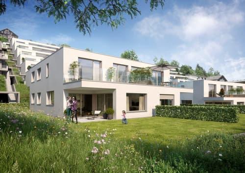 Neubau: 5 1/2-Zimmer-Doppeleinfamilienhaus
