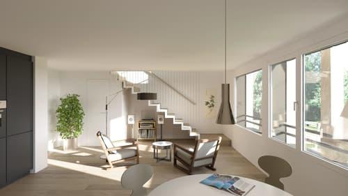 Tolles RENDITEOBJEKT ++ 2.5- Zimmer-Maisonette-Wohnung B1.2, Gelterkinden