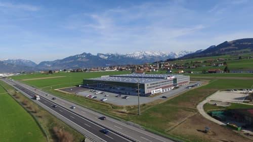 Ihr Produktionsstandort direkt an der A12 Vuadens bei Bulle FR