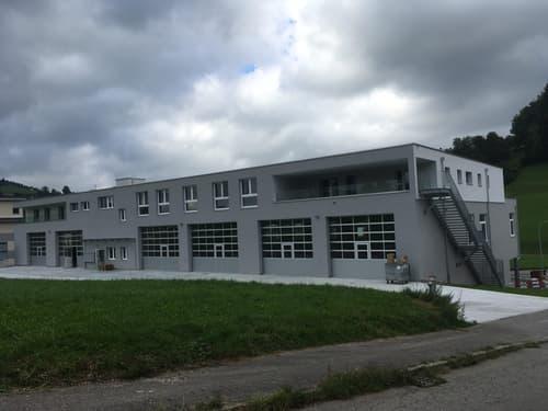 Neue Gewerbeboxen ab 120m2 in Ruswil / Wolhusen zu vermieten
