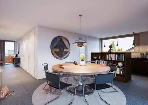 Luxuriöse 5 Zimmer Geschoss Wohnung (1)