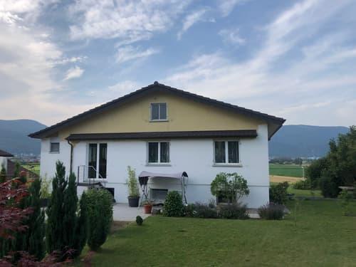 6-Zi-EFH, Atelier, 1284m2 Bauland an zentralen, ruhigen Hanglage zwischen Zürich + Bern