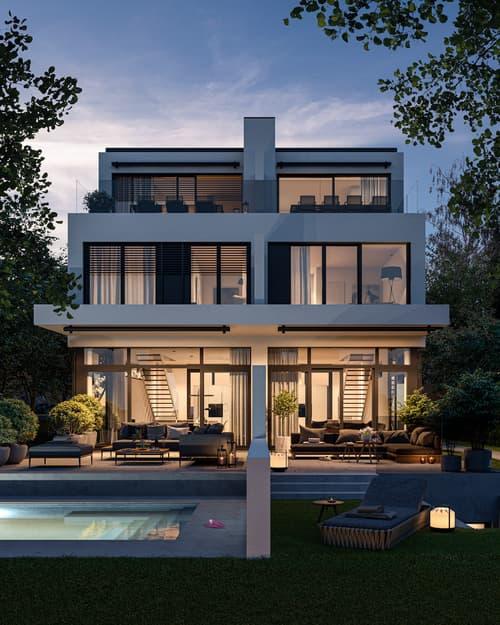 VIER EICHEN Neubauprojekt  - HAUS A / Construction Project - HOUSE A