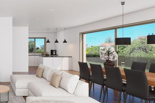 Exklusives 5.5 Zimmer bis 6.5 Zimmer Doppelfamilienhaus (Haus A)