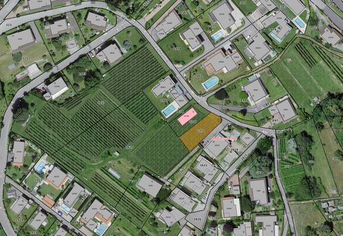 Terreno per casa monofamigliare, Morbio inferiore, via Prevedina