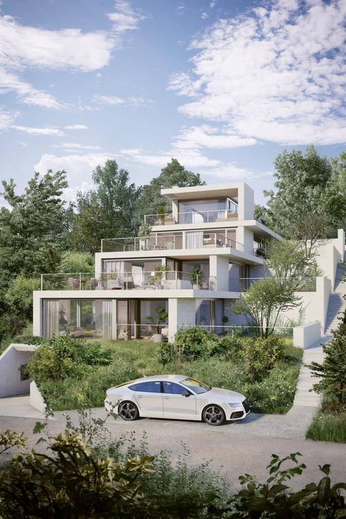 Traumhafte Terrassenwohnungen im Grünen (1)