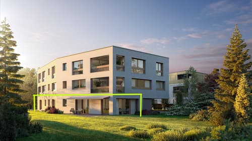 4 1/2-Zimmer-Gartenwohnung im Herzen von Therwil (1)