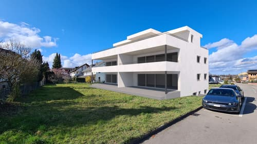 3.5 Zimmer Neubauwohnung mit grosser, gedeckter Terrasse/Sitzplatz (1)