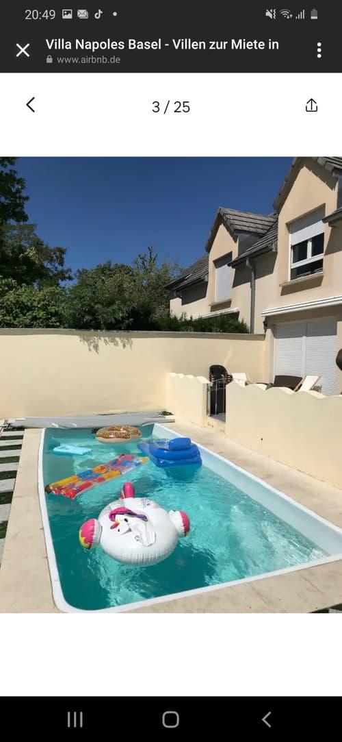Luxus Villa 3 min von Basel entfernt mit Aussen Pool