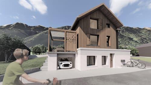 Neubau Einfamilienhaus am Fusse des Stockhorns (1)